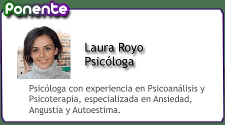 laura royo ponente en la comunidad pos55