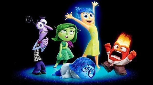 imagen de la película Del Revés de pixar que habla de las emociones